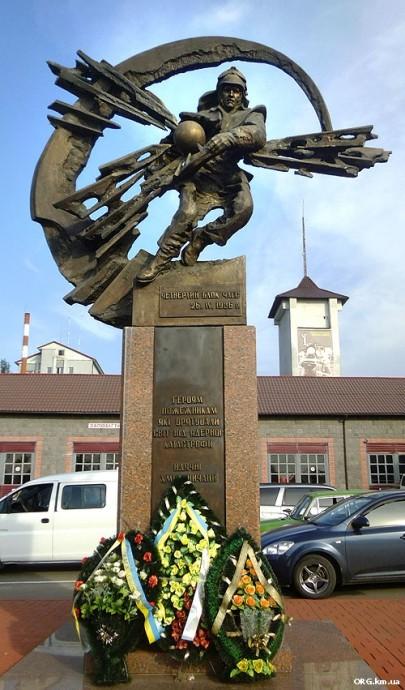 Памятник героям-чернобыльцам