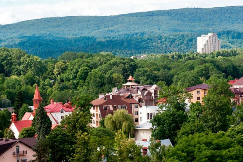 Город-курорт Трускавец
