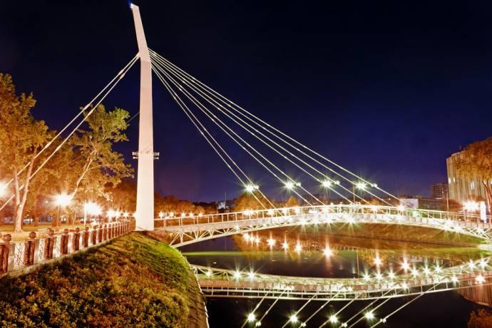 Ночной Харьков