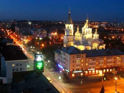 Житомир — Ночь